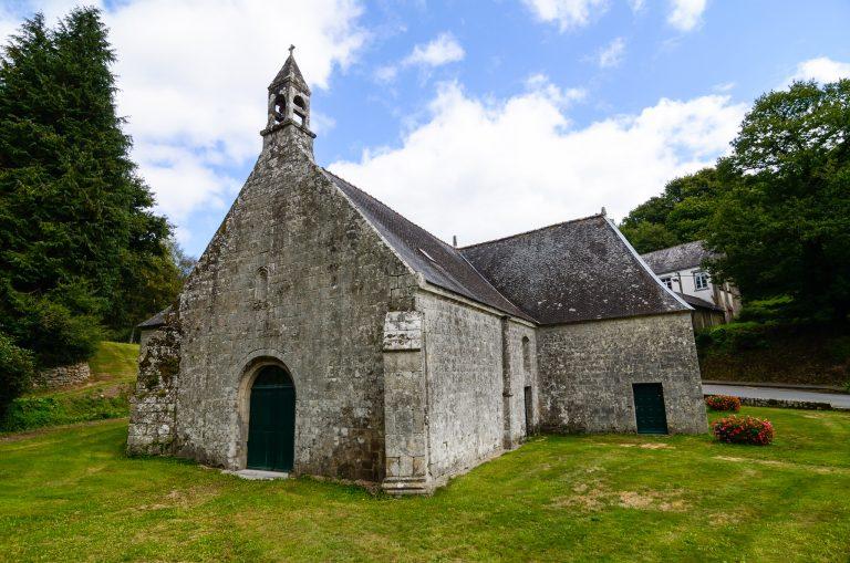 La chapelle Sainte Hélène à Bubry