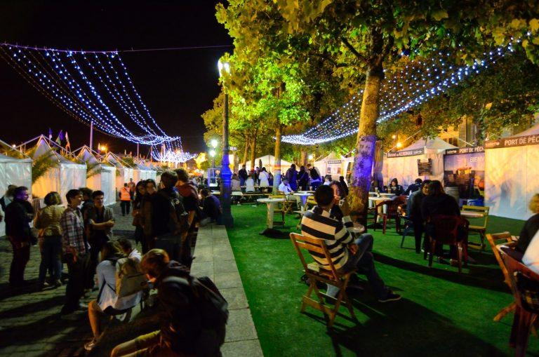 Quai des Pays Celtes lors du Festival Interceltique de Lorient