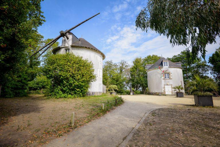 Les moulins du Faouédic - Enclos du Port - Péristyle - Lorient