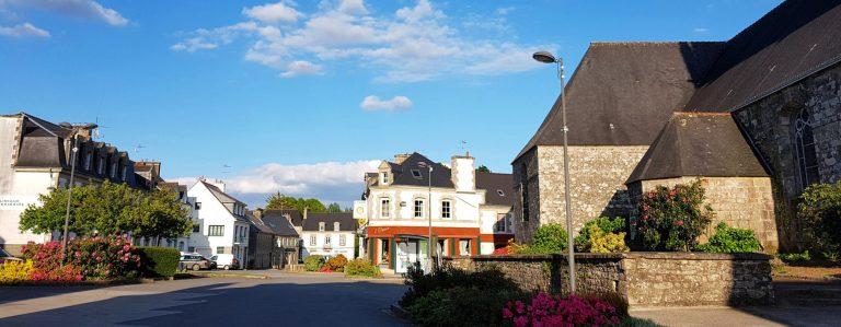 Bourg de Bubry en 2019