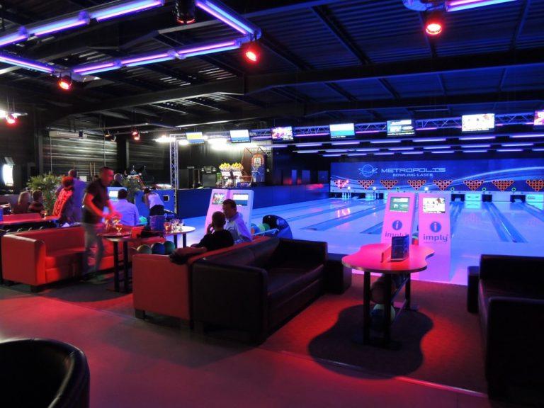 Bowling Laser Blade Metropolis à Lanester