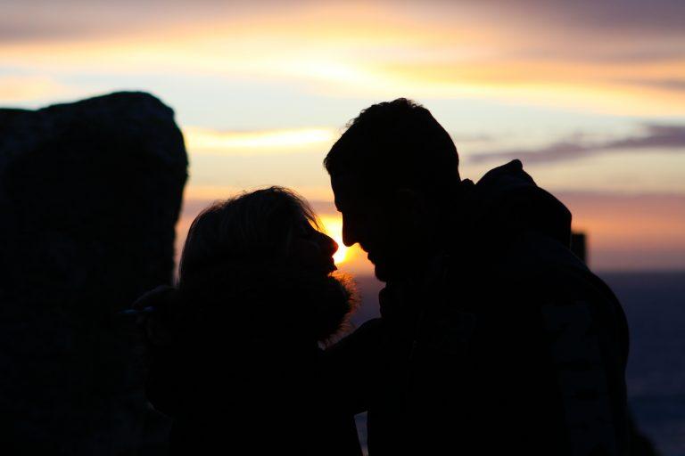 Couché de soleil en amoureux