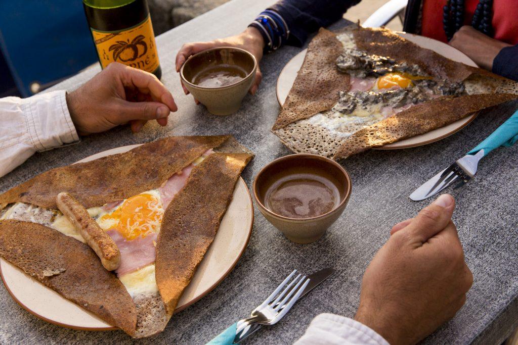 dîner de galettes en amoureux à Lorient