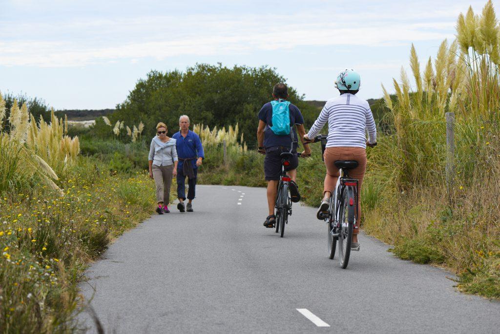 Ploemeur, vélos et randos sur la voie verte des kaolins