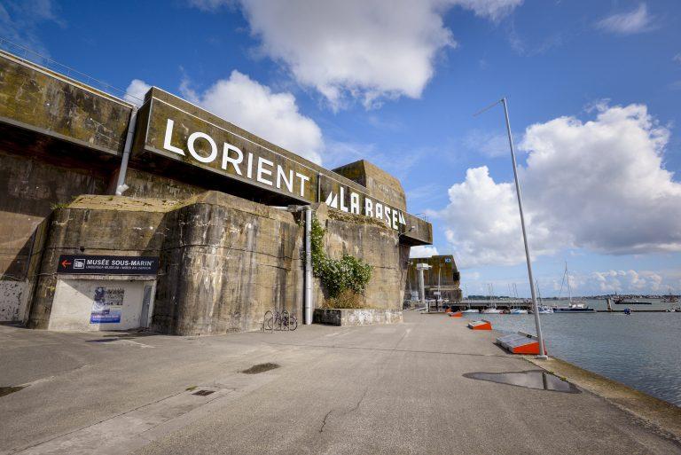 Lorient La Base, le quai vers le K3.