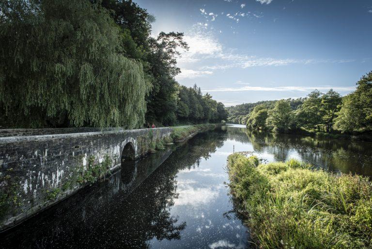 Hennebont, rivière du Blavet