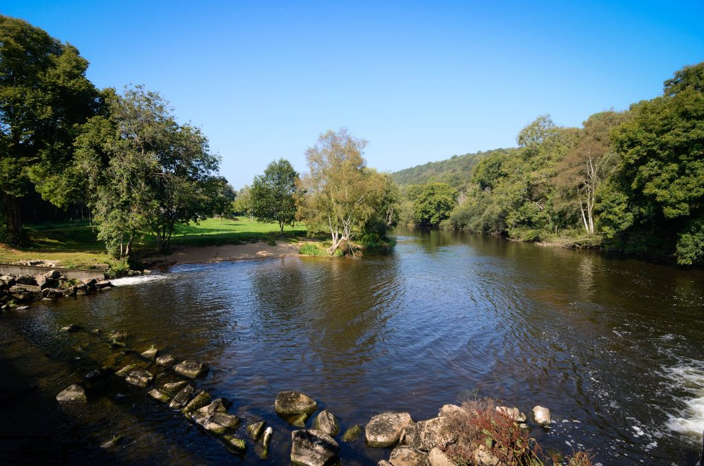 Rivière le Blavet Minazen Quistinic