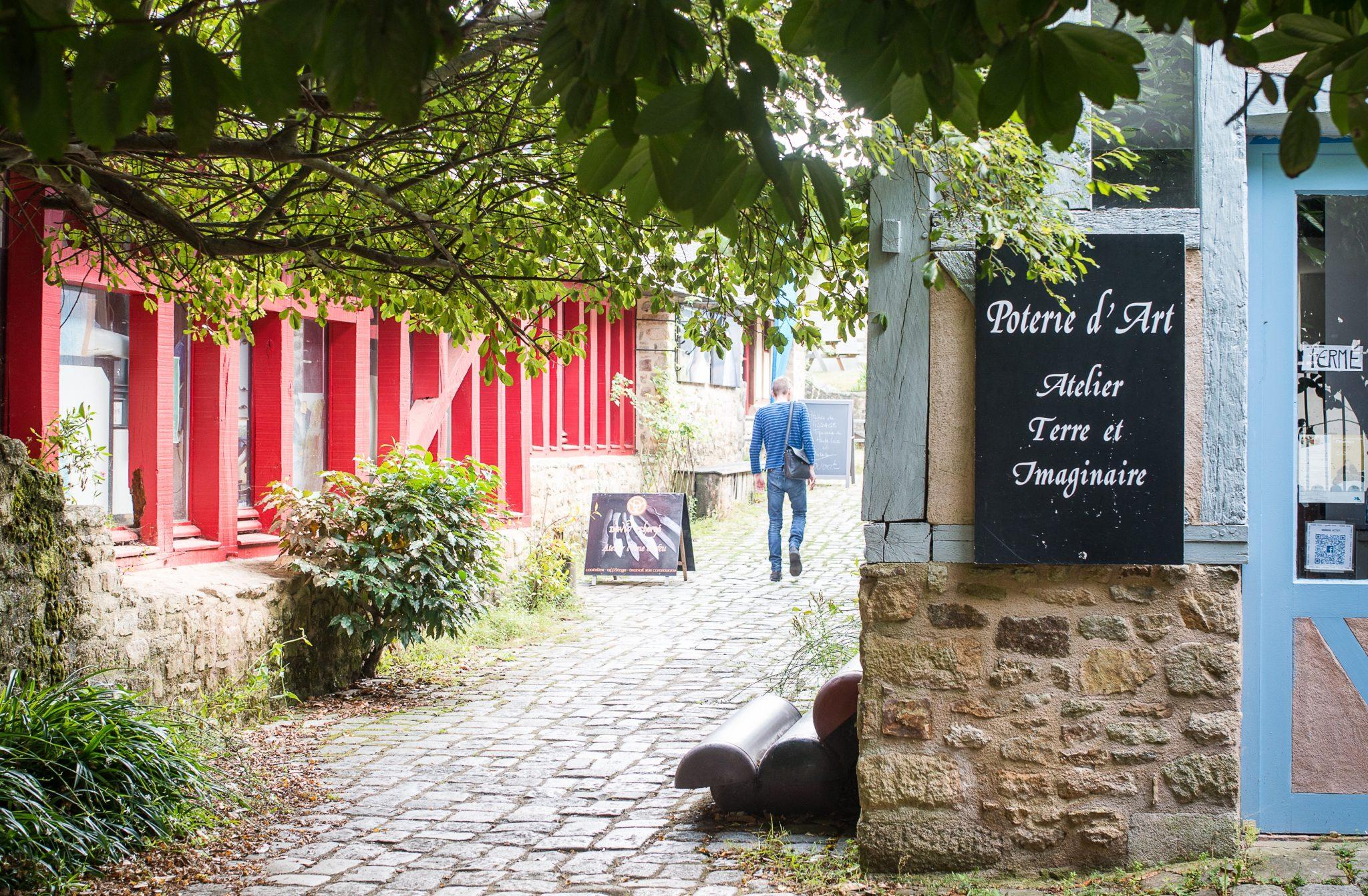 Tourisme et vacances à Pont Scorff : village d'artisans d'art