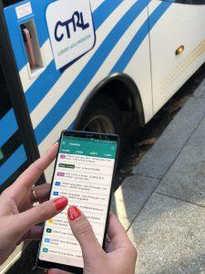 Application mobile pour les bus CTRL