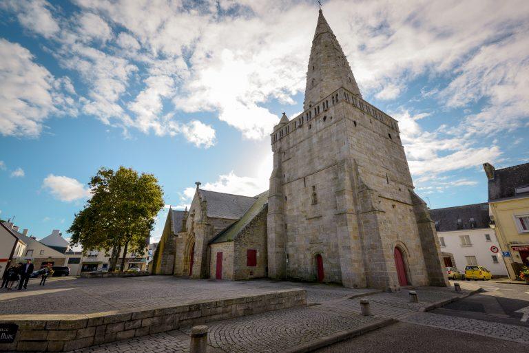 Eglise de Notre Dame de Lamor plage , Larmor Plage