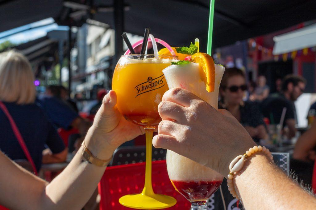 Cocktails en terrasse à Lorient