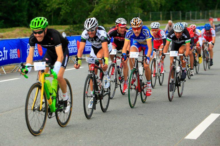 Epreuve cycliste à Plouay
