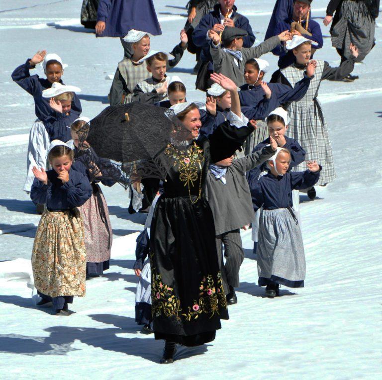Danse de jeune fille, festival interceltique de Lorient