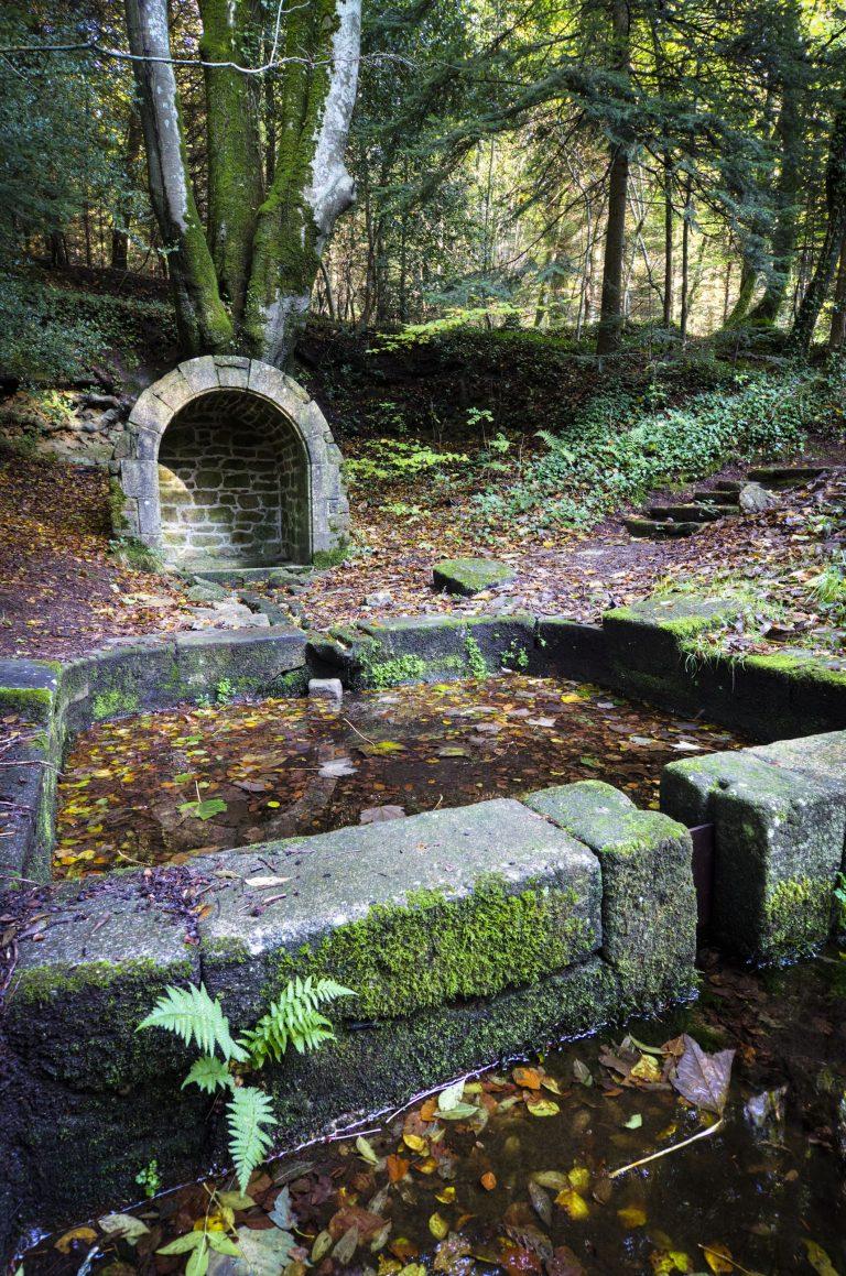 Fontaine et lavoir Kerousseau, Quéven