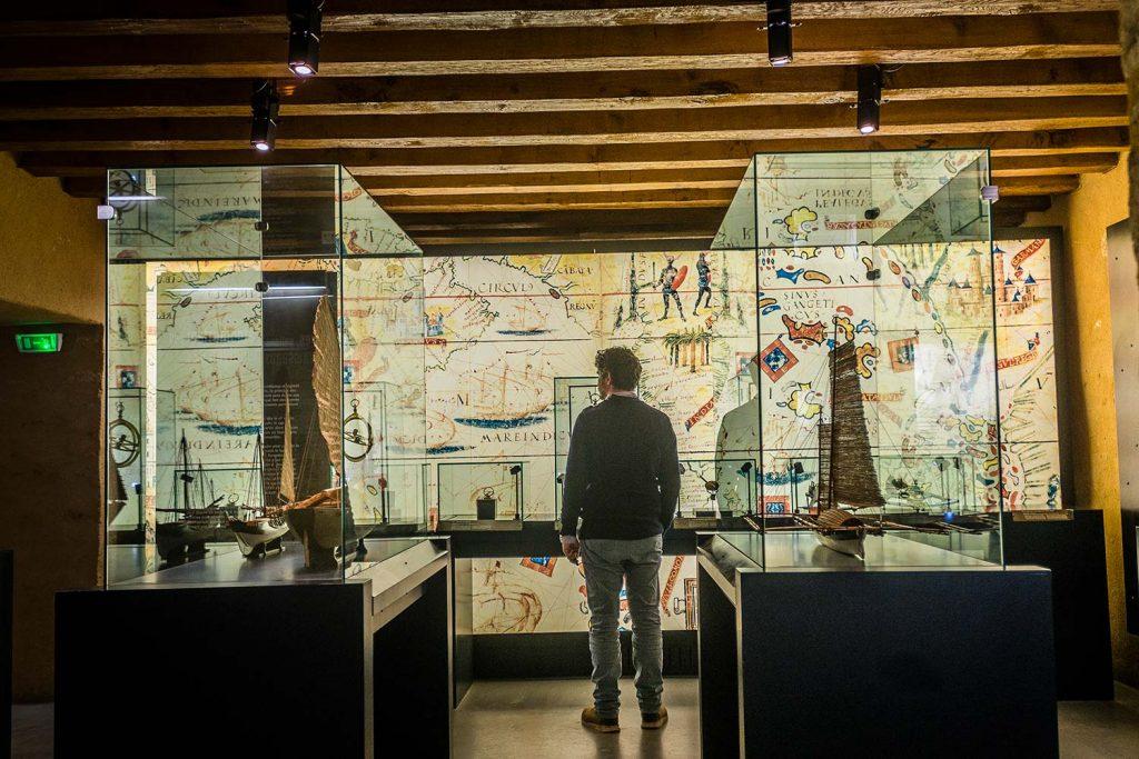 Visite au musée de la Compagnie des Indes