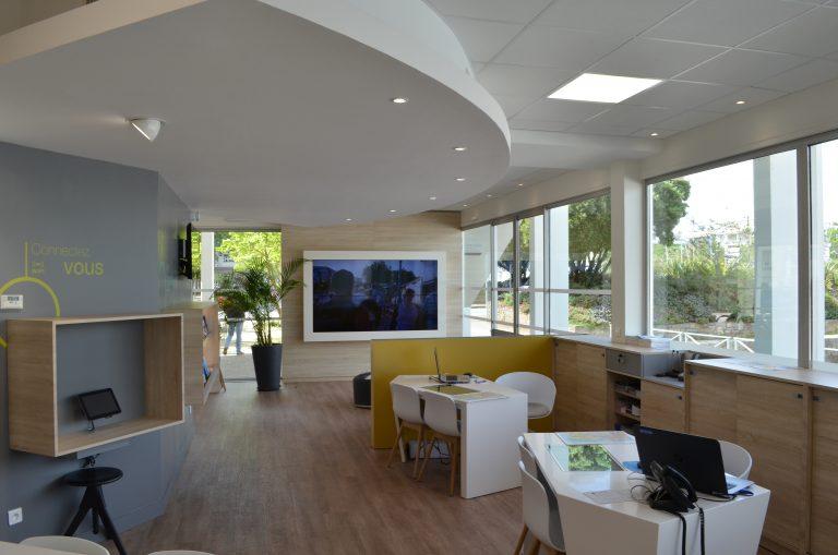 Office de tourisme de Lorient Bretagne Sud, l'accueil.