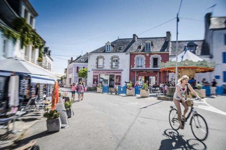 Le bourg de l'Ile de Groix