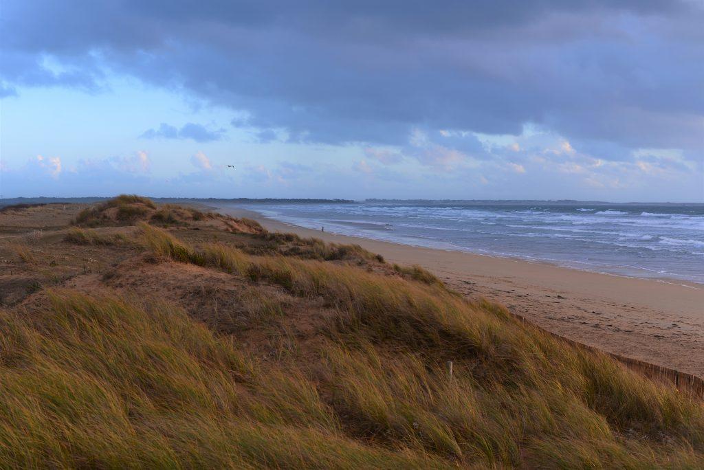 Plouharnel, Dunes à Sainte-Barbe