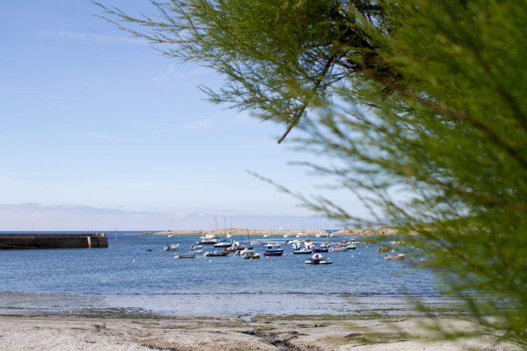 Port de Locmaria sur l' Ile de Groix