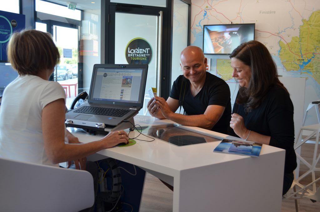 Nos conseillers vous informent à Lorient Bretagne Sud Tourisme