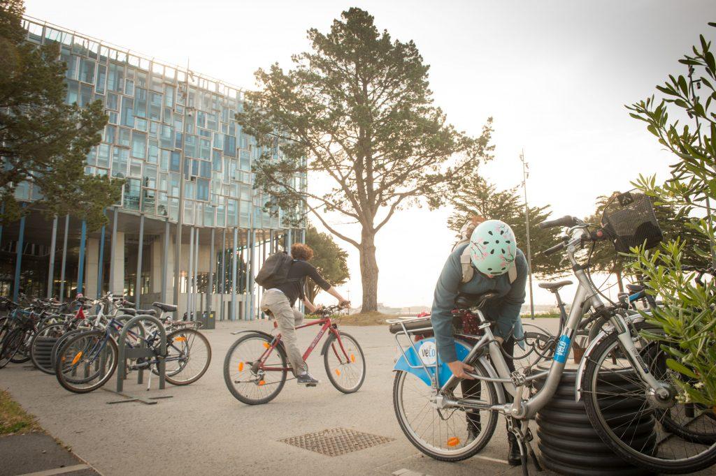 Parking à vélo, Lorient