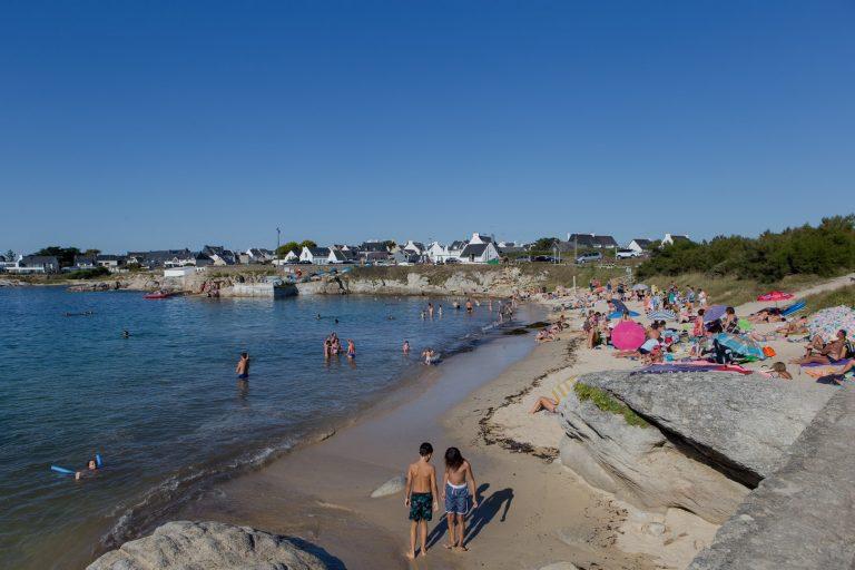 Petite plage de Kerroc'h, Ploemeur