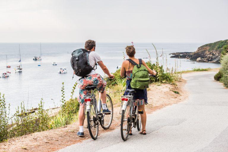 Randonnée vélo en amoureux sur l'Ile de Groix
