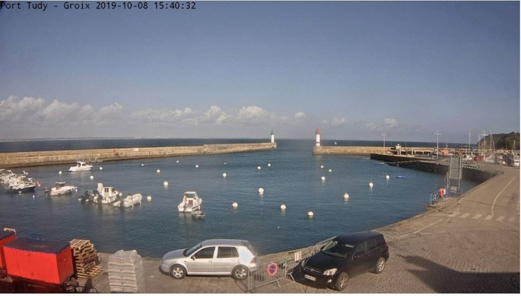 Vue Webcam Groix, Port Tudy