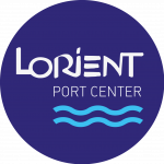 Le logo de Lorient Port Center.