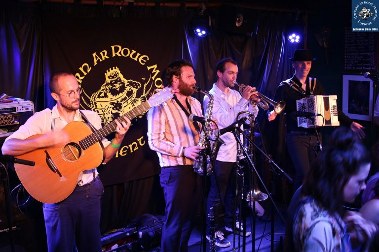 Concert à la Tavarn Ar Roue Morvan à Lorient.