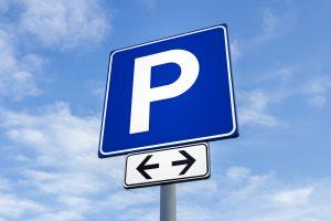 Panneau signalisation parking