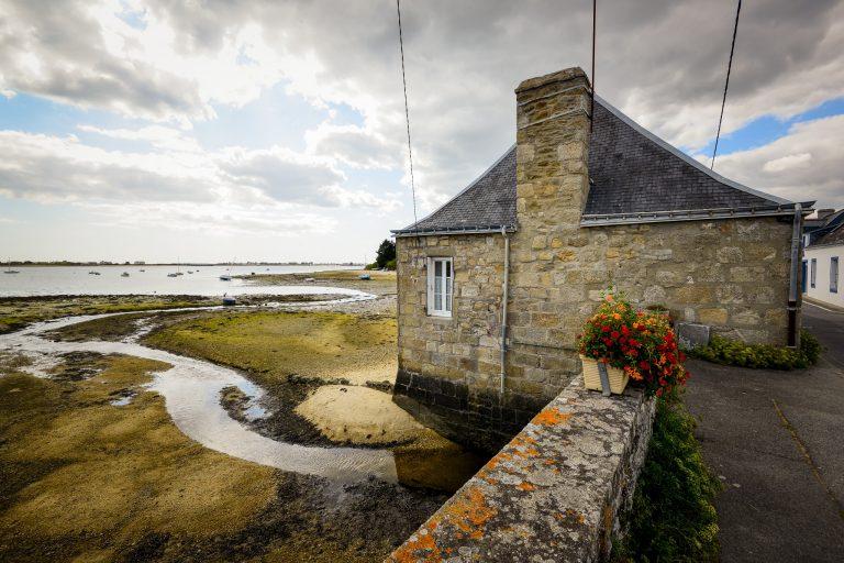 Ancien moulin à marée de Stervins à Riantec