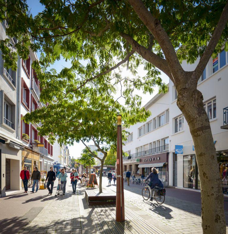 Balade rue du port à Lorient