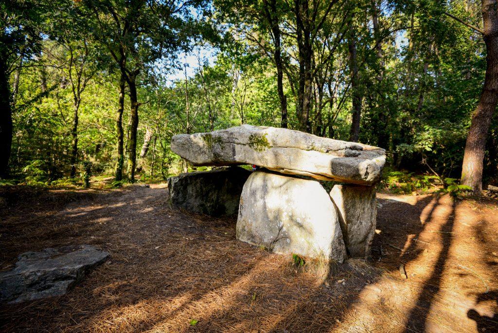 Dolmen de Kerporel de la forêt de Riantec