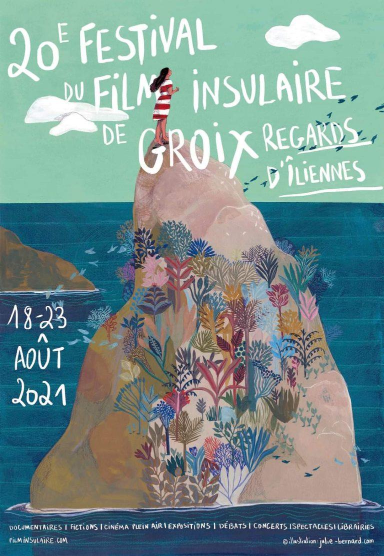 Festival du film insulaire de Groix - affiche 2021