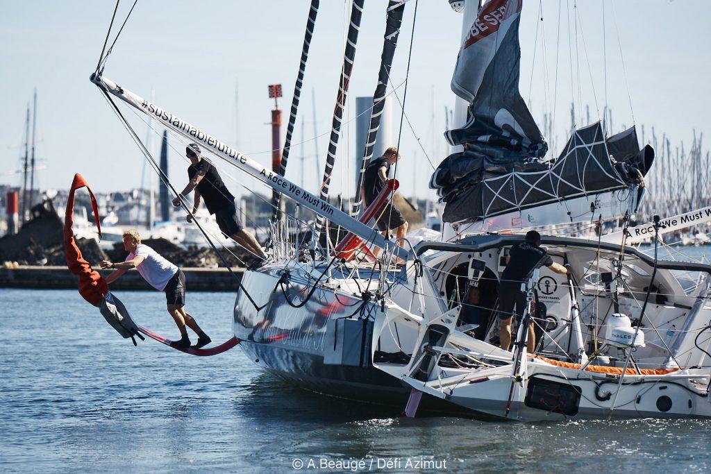 Lorient La Base Préparation des bateaux Imoca