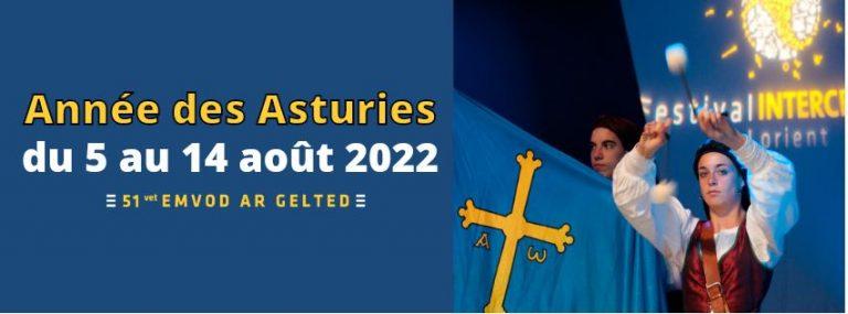 Festival Interceltique 2022 Les Asturies
