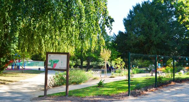Hennebont, Aire de jeux au Parc de Kerbihan