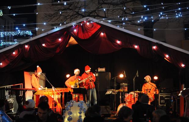 Concert en centre-ville de Lorient à l'occasion de Noël sous les étoiles.
