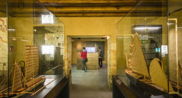 ©Xavier. DUBOIS. Port-Louis, musée de la Marine.