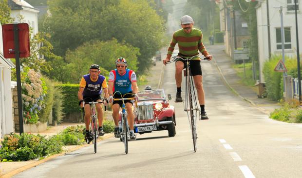 Cyclisme en version rétro à Plouay
