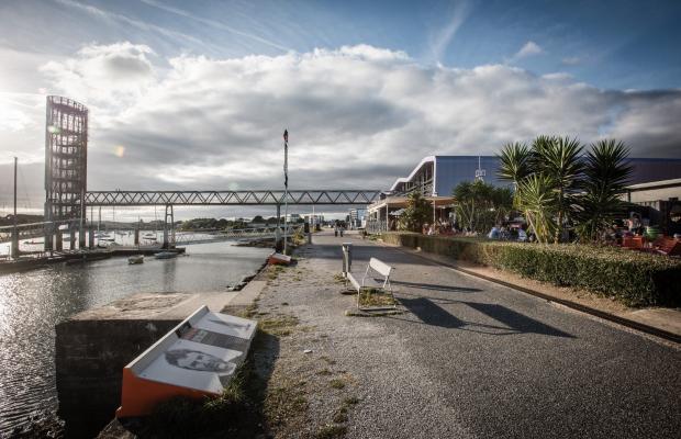Lorient, extérieur La Base