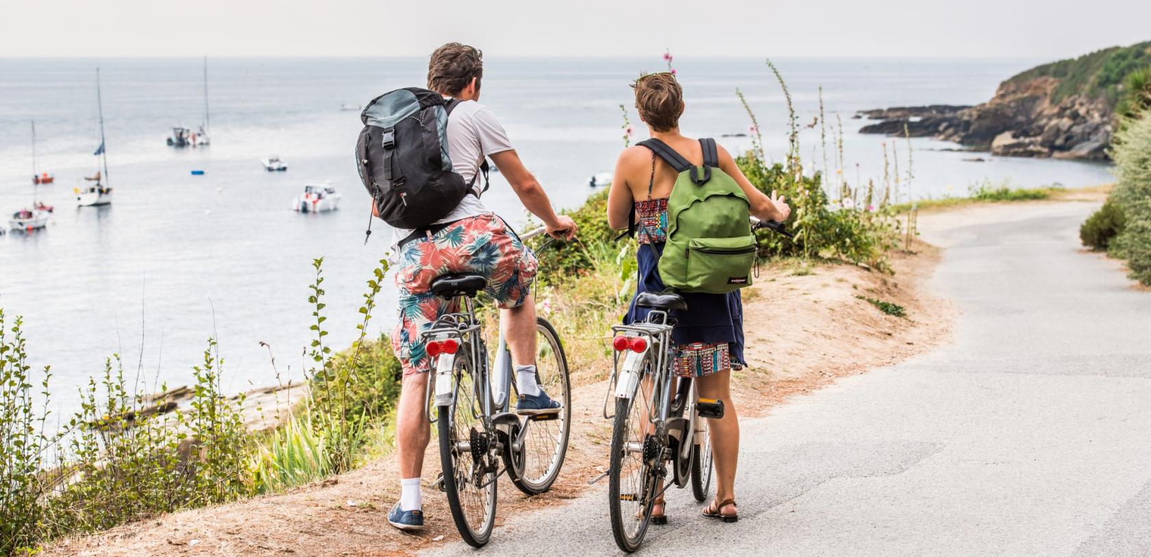 Ile de Groix, Balade à vélo