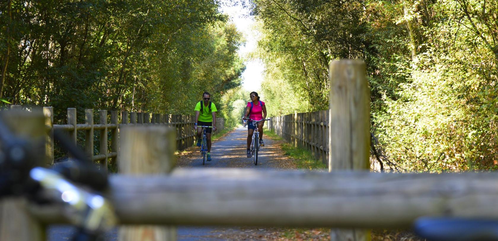 Lorient, balade à vélo sur la voie verte