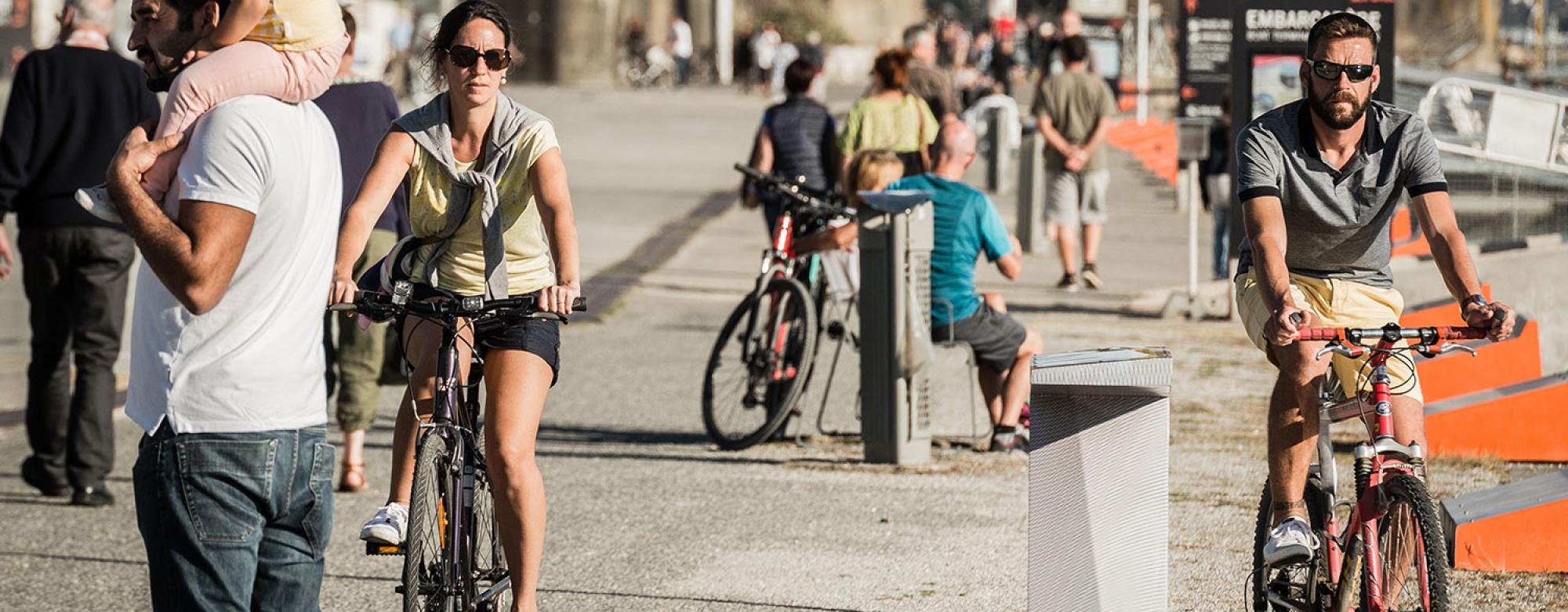 Balade à vélo en amoureux à Lorient