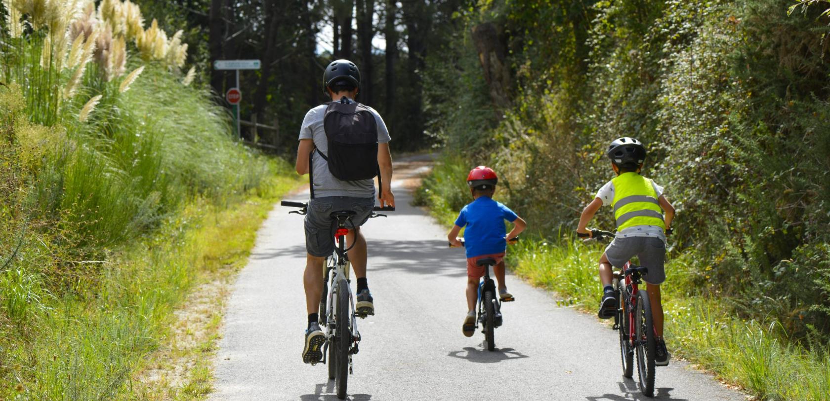 Ploemeur, balade à vélo sur la voie verte