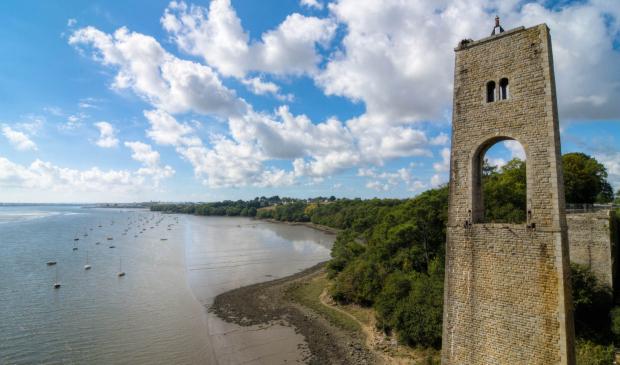 Le Blavet, le Pont du Bonhomme à Lanester.