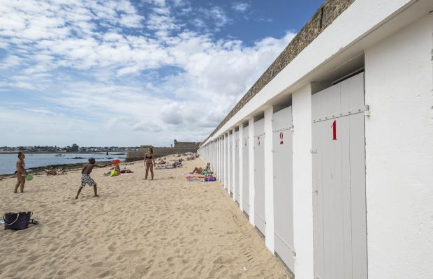 Port-Louis, cabines de plage