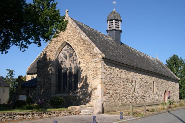 La chapelle Sainte-Anne à Brandérion.