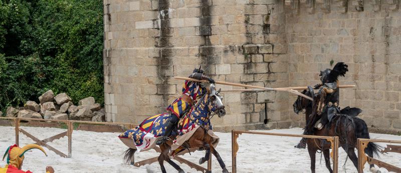 Hennebont, joute aux Médiévales